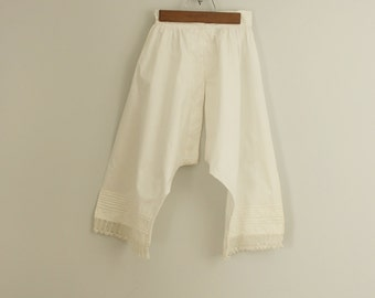 victorian bloomers | antique cotton pantaloons