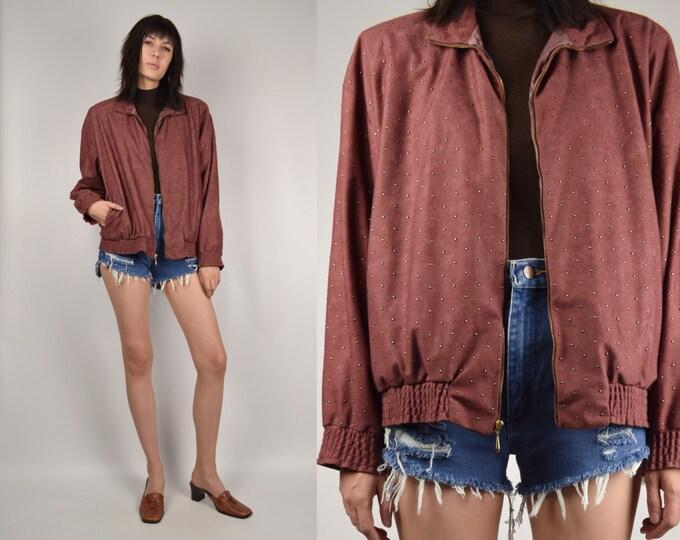 80's Windbreaker Jacket minimalist vintage