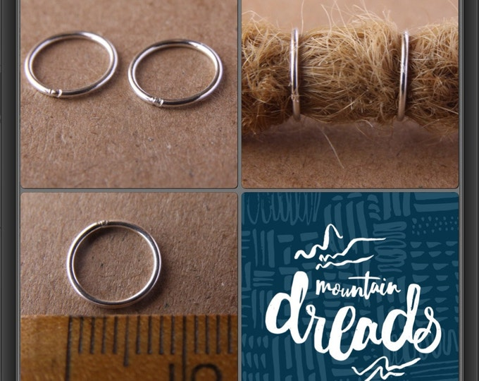 2 Fine Sterling Silver Rings