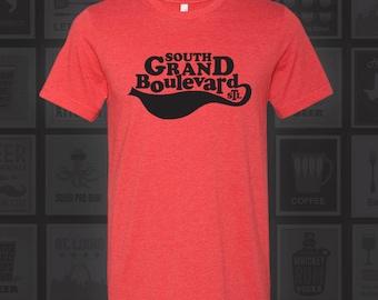 South Grand Blvd - STL City Shirt from Benton Park Prints