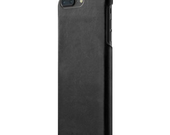 Mujjo Leather Case for iPhone 7 Plus - Black