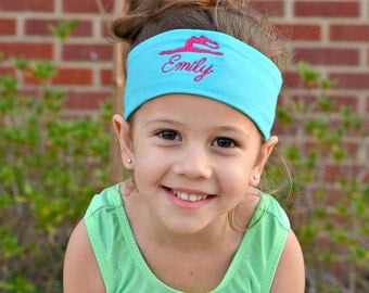 Dance Headband, Dance Embroidered Headband, Dance Accessories, Personalized Headband, Custom Headband, Custom Gifts, Personalized Gifts