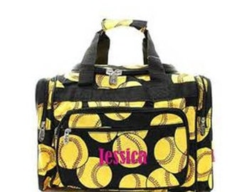 Monogramed Sports/Gym/Dance/Cheer Duffle Bag w/FreeEmbroidery/FreeShipping