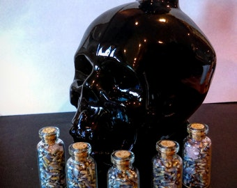 Mini Spell Bottles ~ Magic, love spells, wiccan spells, witchcraft, pagan, wicca, magick, money, protection, healing, luck