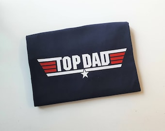 Top Dad Shirt - Best Dad Tee - Pilot T-shirt - Father's Day Gift - New Dad - Father Birthday - Funny Dad Shirt