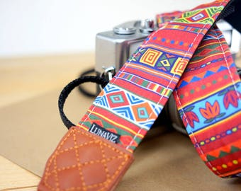 Personalize Camera Strap - Nadia for DSLR and Mirrorless