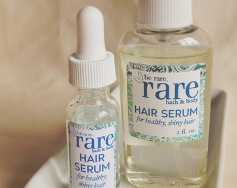 Argan Oil Hair Serum with Coconut Oil - Split End Treatment - Smooth Hair