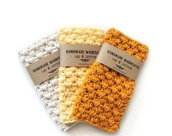 Bath Accessory Washcloth Stocking Stuffer Gift For Women Cotton Washcloth Crochet Handmade Wash Cloth Hostess Gift For Mom Gift Grandmother