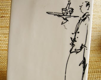 Porcelain Menu Display Easel Williams Sonoma