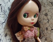 Lace Ladylike Blouse - 1930s inspired - hand knitted for your BlytheStar