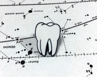 Tooth Enamel Pin