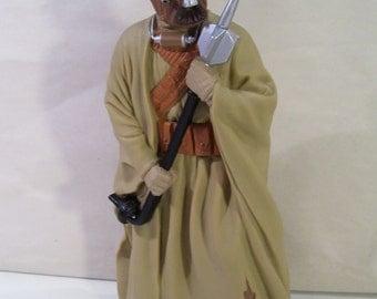 "Vintage Star Wars Tusken Raider 10"" Vinyl Figure, 1995, Applause"