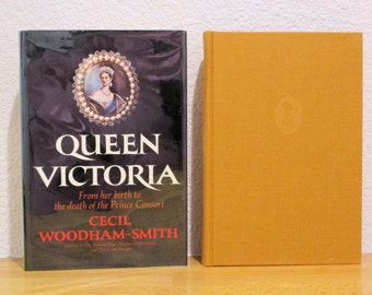 QUEEN VICTORIA From Birth to Death of the Prince Consort by Cecil Woodham-Smith First American Edition 1972