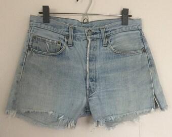 Vintage Levis 501 Jean Shorts