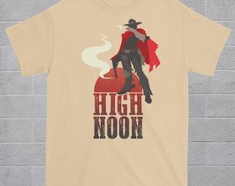 McCree Overwatch Tee - High Noon - t-shirt nerd geek apparel