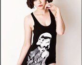 Suit up Trooper American Apparel Tank top