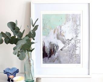 American Kestrel - A3 Bird Print