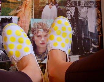 Polka Dot Shoes- Custom