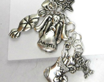 Christmas, Stocking Filler, Key Ring, Accessory, Silver