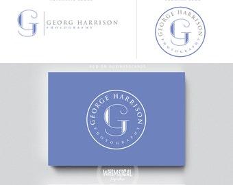 minimal photographer logo 3 initials male businesscards  simple modern gender nutral branding kit Identity minimal wedding photographer