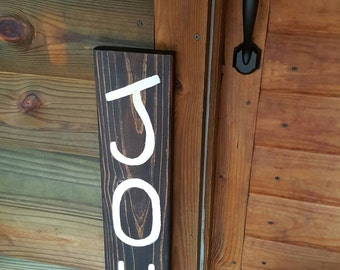 Wood Joy Sign, Rustic Decor, Christmas Decor, Christmas Sign, Holiday Decor, Rustic Holiday Sign, Holiday Sign, Primitive, Xmas, Country