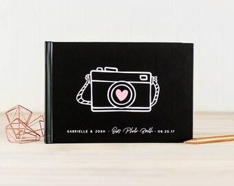 Wedding Photo Guest Book landscape wedding guestbook wedding photo book horizontal guest book instant photo guest book custom wedding album