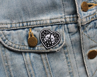 Enamel Pin Badge 'We Are Made of Stars'