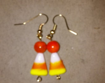 Candy Corn Earrings Style #5