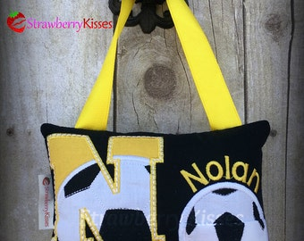 Tooth Fairy Pillow - Soccer Version