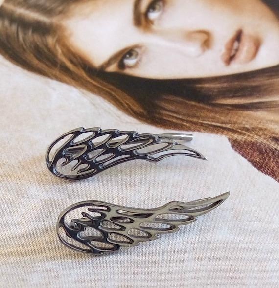 Angel wings earrings, angel wings silver 925 earrings, angel earrings, wing earrings, gift, threader angel wings earrings