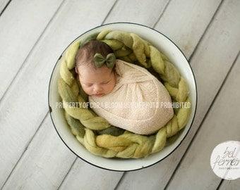 Stretch Knit Wrap, Newborn Knit Wrap, Cream Knit Wrap, Cream Newborn Wrap, Photography Knit Wrap, Knit Wrap, Photography Prop, Newborn Prop