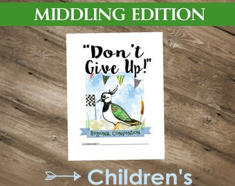 Don't Give Up! ( Middling Edition ~ 2017 CHILDREN'S NOTEBOOK ) English DIGITAL pdf File Download