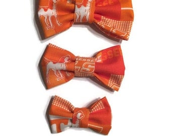 Tennessee Vols Dog Bow Tie