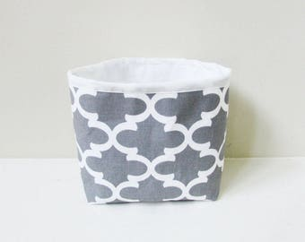 Fabric Storage Bin - Storage Organizer - Storage Basket - Home Decor - Medium