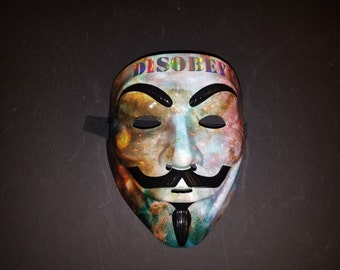 Galaxy DISOBEY Anonymous/Guy Fawkes Mask!