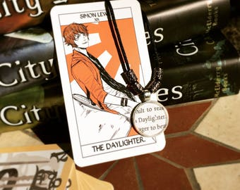 Daylighter - The Mortal Instruments Simon Lewis Quote Pendant, Keychain, or Necklace