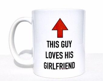 Gifts for guy, boyfriend gift, boyfriend mug, valentines gift for him, valentines day, gifts for him, coffee mug, personalized mug