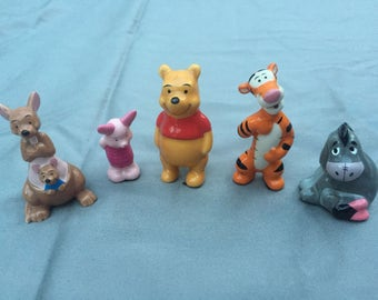 Vintage Collectable Disney Winnie the Pooh figurines