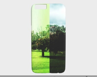 Photo Art iPhone Cases, Landscape Trees iPhone 6 Case, Photography Art Case for iPhone 6 / 6S, Landscape Perspective by Dawn Mercer Photo