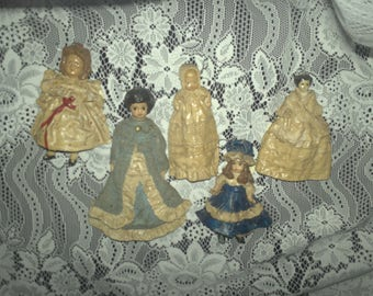 Handmade Miniature Doll Ornaments