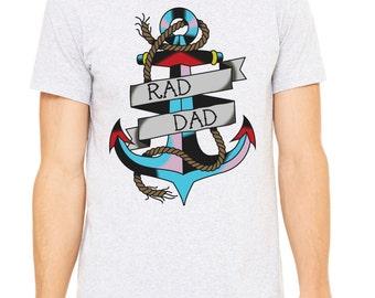 Anchor Tee, t-shirt, dad shirt, t shirt, gift for dad, dad stuff