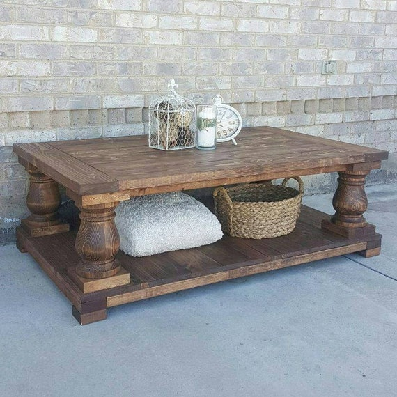 Local Pickup Only - Balustrade Coffee Table - Coffee Table