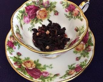 Organic Herbal Hibiscus Flower Tea Bags