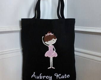 Personalized Dance Bag - Several Color Options Available