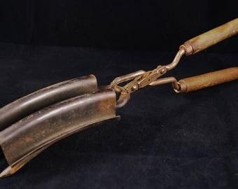 Antique Hair Crimping Tongs - Hair Crimper - Hair Crimping Iron