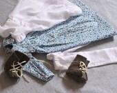 Prairie Dress Set for Small Doll