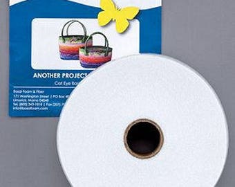"Duet-Fuse II On A Roll; Bosal Double Sided Fusible Batting; Fusible Fleece Batting Strip 2.25"" wide x 20 yards; Sewing Supplies"