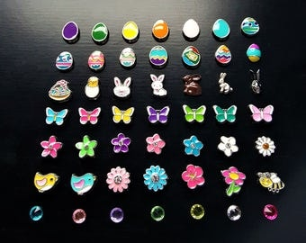 Spring & Easter Floating Charm for Floating Lockets-1-Piece-Gift Ideas for Women
