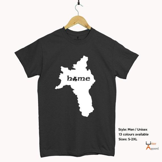 Roscommon is home t shirt, Irish counties t shirt, Irish birthday funny gift Roscommon homeland shirt Irish expat. Christmas gift Irish