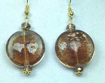 Gold Dangle and Drop Earrings